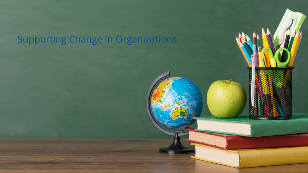 3SCO Supporting Change in Organizations