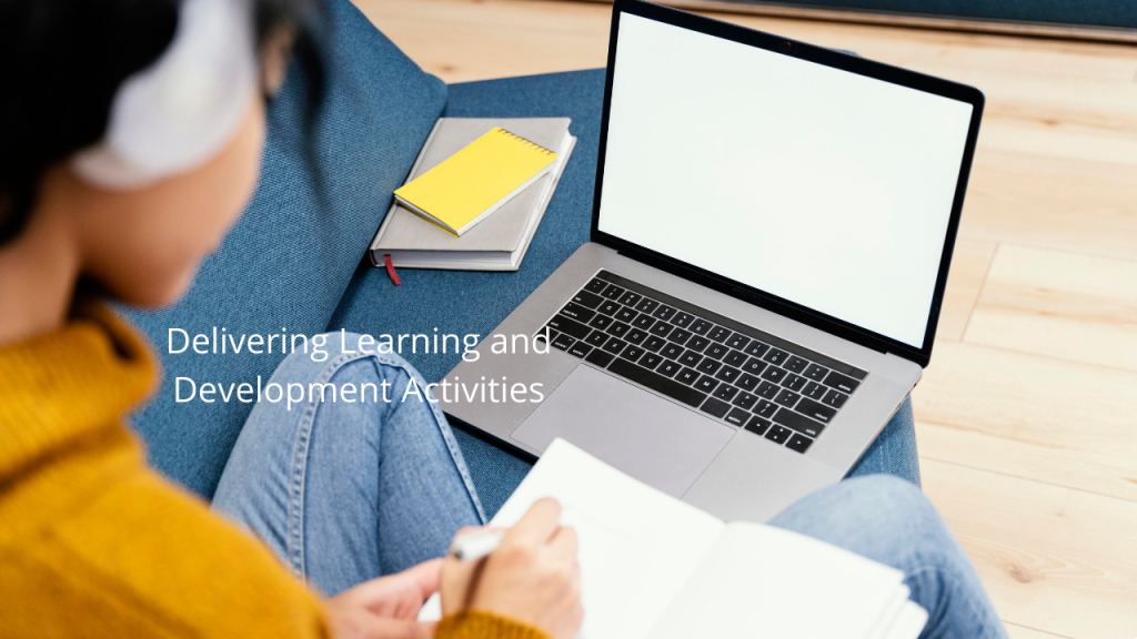 3DEL Delivering Learning and Development Activities